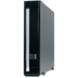 """Boîtier disque dur ICY DOCK MB-559UEA-1SB ICY DOCK MB-559UEA-1SB - Boîtier externe pour disque dur 3""""1/2 Serial ATA sur ports USB 2.0 / FireWire 400 (noir)"""