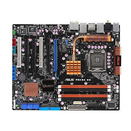 Carte mère ASUS P5K64 WS ASUS P5K64 WS (Intel P35 Express) - ATX - (garantie 3 ans)