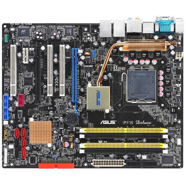 Carte mère ASUS P5B Deluxe + Myst V + HM 5 (Bundle) ASUS P5B Deluxe (Intel P965 Express)   Myst V   HM 5 (Bundle) - (garantie 3 ans)