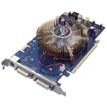 Carte graphique ASUS EN8600GT/HTDP/256M ASUS EN8600GT/HTDP/256M - 256 Mo TV-Out/Dual DVI - PCI Express (NVIDIA GeForce 8600 GT)