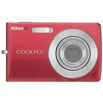 Appareil photo numérique Nikon Coolpix S200 Nikon Coolpix S200 (coloris rouge)