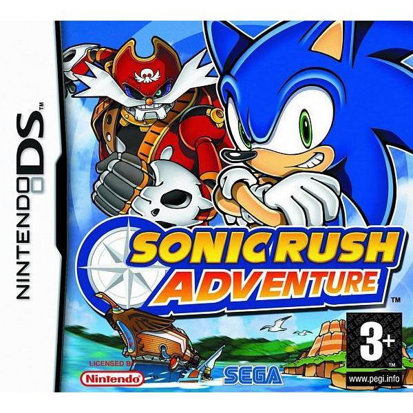 Jeux Nintendo DS Sonic Rush Adventure (Nintendo DS) Sonic Rush Adventure (Nintendo DS)