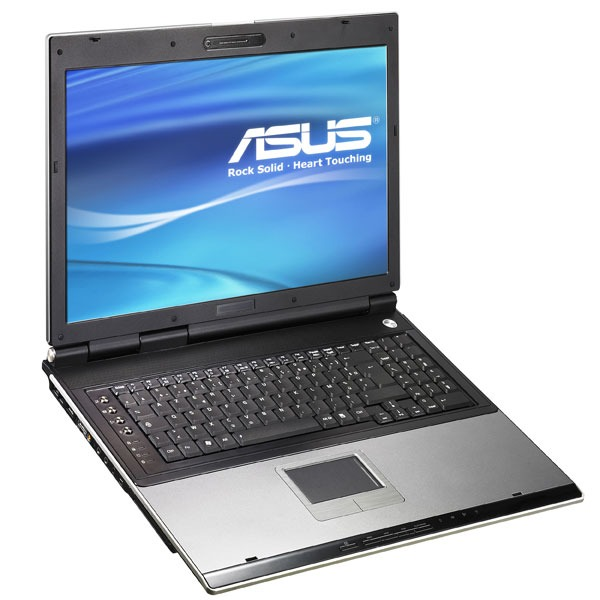 "PC portable ASUS A7U-7S046C ASUS A7U-7S046C - AMD Athlon 64 X2 TK-55 2 Go 160 Go 17"" TFT DVD Super Multi DL Wi-Fi G Webcam WVFP"