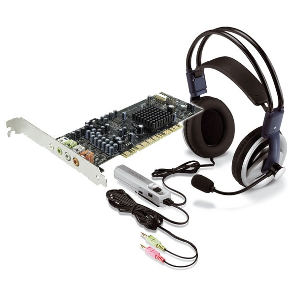 Carte son interne Creative Sound Blaster X-Fi Xtreme Gamer + Casque micro Altec Lansing AHS 615 Creative Sound Blaster X-Fi Xtreme Gamer + Casque micro Altec Lansing AHS 615 (bundle)