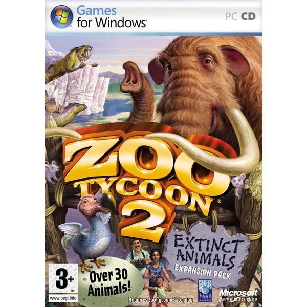 Jeux PC Zoo Tycoon 2 : Extinct Animals (PC) Zoo Tycoon 2 : Extinct Animals - Extension pour Zoo Tycoon 2 (PC)