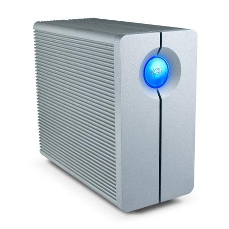 Serveur NAS LaCie 2big Network 1 To LaCie 2big Network 1 To (Gigabit Ethernet) - Serveur NAS RAID professionnel à 2 disques (garantie LaCie 3 ans)