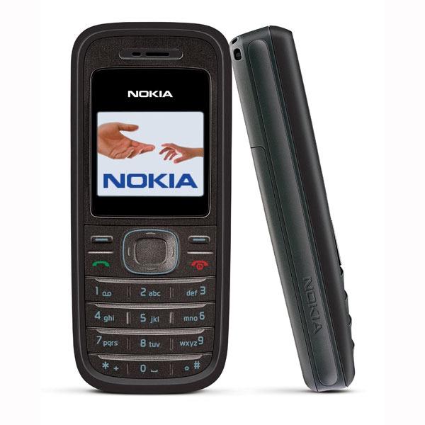 Mobile & smartphone Nokia 1208 noir Nokia 1208 (coloris noir)