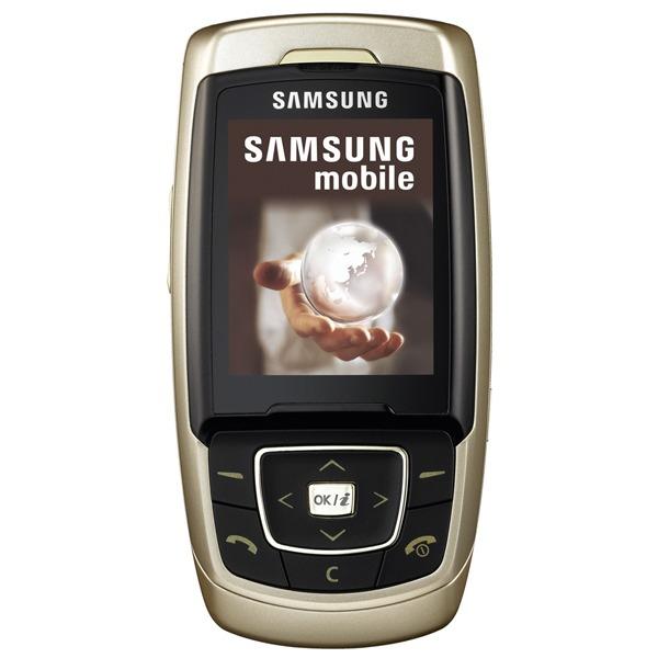 Mobile & smartphone Samsung SGH-E830 Samsung SGH-E830 (coloris or)
