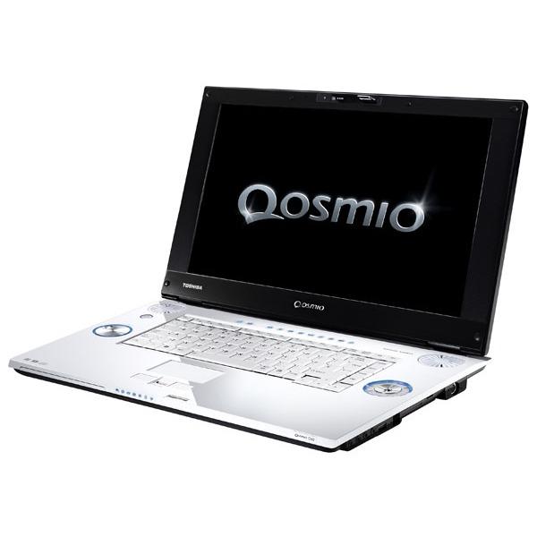 "PC portable Toshiba Qosmio G40-114 Toshiba Qosmio G40-114 - Intel Core 2 Duo T7700 2 Go 400 (2x 200) Go 17"" TFT Lecteur HD DVD/Graveur DVD Super Multi DL Wi-Fi N/Bluetooth Tuner TV Hybride Webcam WVI"