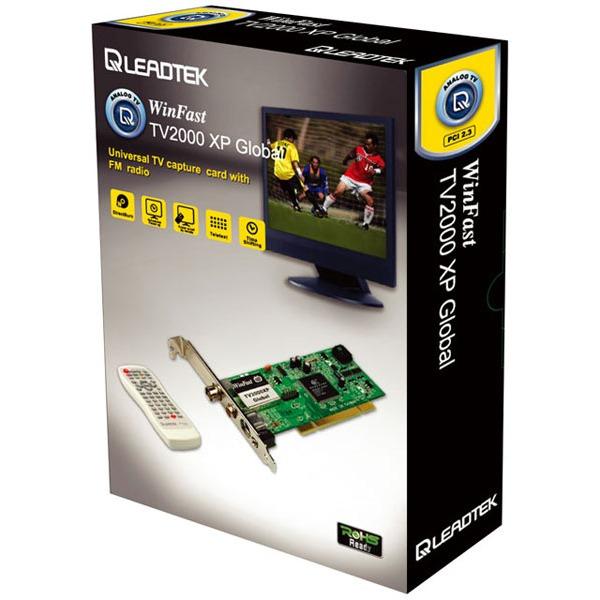 Carte TV Leadtek WinFast TV2000XP Global Leadtek WinFast TV2000XP Global - Carte Tuner TV PAL/SECAM & NTSC