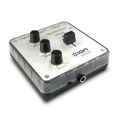 Logiciel musique & MP3 Ion Express DJ Ion Express DJ - MixMeister Express + interface de contrôle sur port USB + microphone