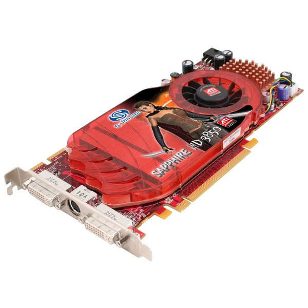 Carte graphique Sapphire Radeon HD 3850 256 Mo 21121-00-20R Sapphire Radeon HD 3850 - 256 Mo TV-Out/Dual DVI - PCI Express (ATI Radeon HD 3850)