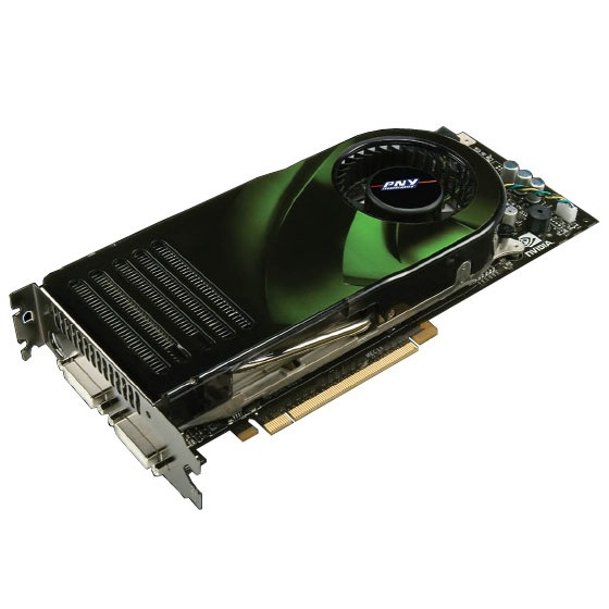Carte graphique PNY GeForce 8800 GTX PNY GeForce 8800 GTX - 768 Mo TV-Out/Dual DVI - PCI Express (NVIDIA GeForce 8800 GTX)
