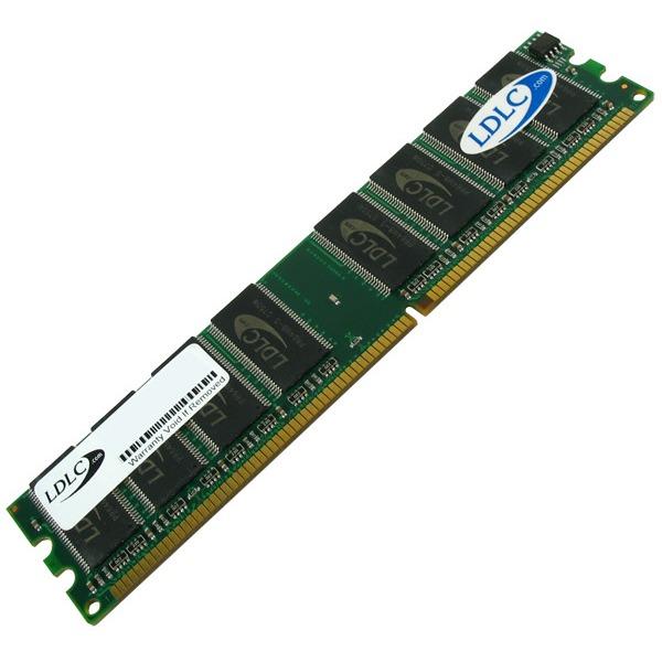 Mémoire PC LDLC 1 Go DDR 400 MHz CL5 RAM DDR PC3200 (garantie 10 ans)