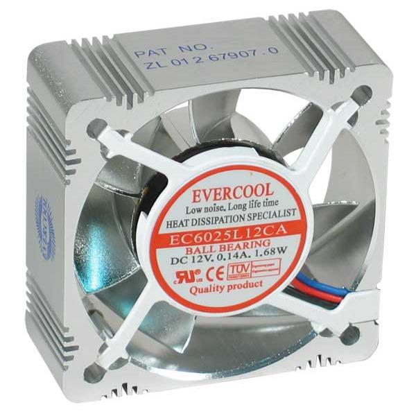 Ventilateur boîtier Evercool Ventilateur Aluminium 60mm Evercool Ventilateur Aluminium 60mm