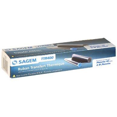 Transfert thermique Sagem TTR400 Sagem TTR400 - Ruban Noir 140 pages