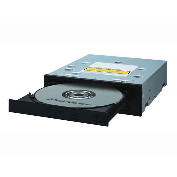 Lecteur graveur Pioneer DVR-115D black Pioneer DVR-115D - DVD(+/-)RW 20/8/20/6x DL(+/-) 10/10x CD-RW 40/32/40x IDE Noir (bulk)
