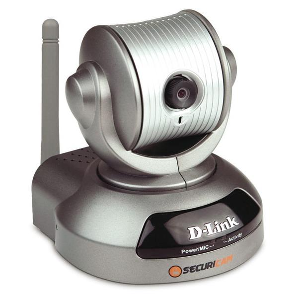 Caméra IP D-Link DCS-5220 D-Link DCS-5220 - Caméra IP panoramique 54 Mbps (Wi-Fi G/Ethernet) - compatible 3G