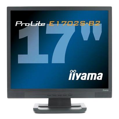 "Ecran PC IIyama ProLite E1702S-B2 IIyama 17"" LCD - ProLite E1702S-B2 - 5 ms - Noir"