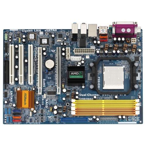 Carte mère ASRock ALiveXFire-eSATA2 Carte mère ATX Socket AM2 AMD 480X CrossFire