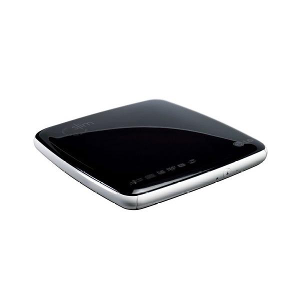 Lecteur graveur LG GSA-E50L LG GSA-E50L Slim - DVD(+/-)RW/RAM 8/8/8/6/5x DL(+/-) 6/6x CD-RW 24/16/24x Externe