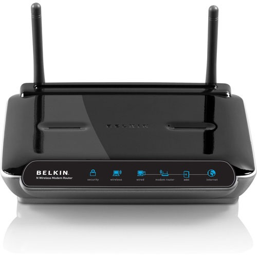belkin modem routeur wi fi n f5d8633fr4a achat vente modem routeur sur. Black Bedroom Furniture Sets. Home Design Ideas