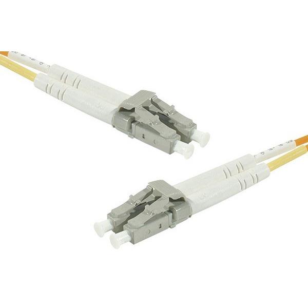 Câble fibre Optique Câble fibre optique multimode OM2 50/125 LC/LC (5 mètres) Câble fibre optique multimode OM2 50/125 LC/LC (5 mètres)