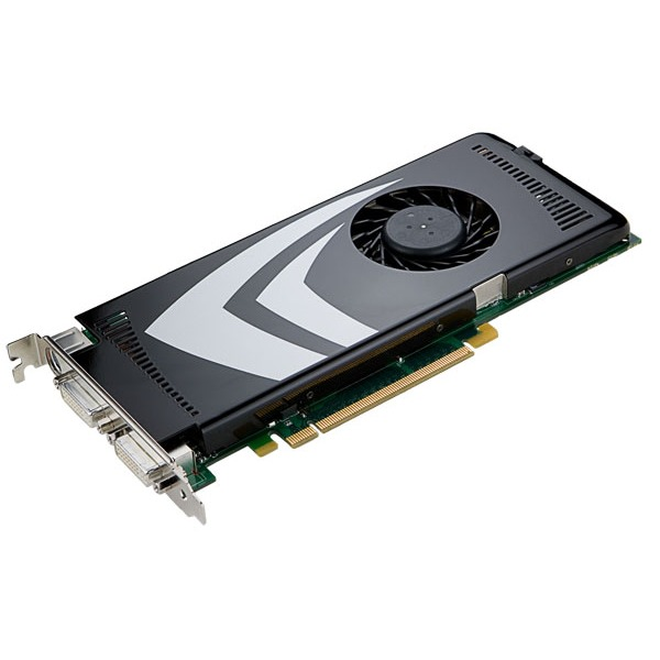 Carte graphique NVIDIA GeForce 9600 GT - 512 Mo NVIDIA GeForce 9600 GT - 512 Mo TV-Out/DVI - PCI Express