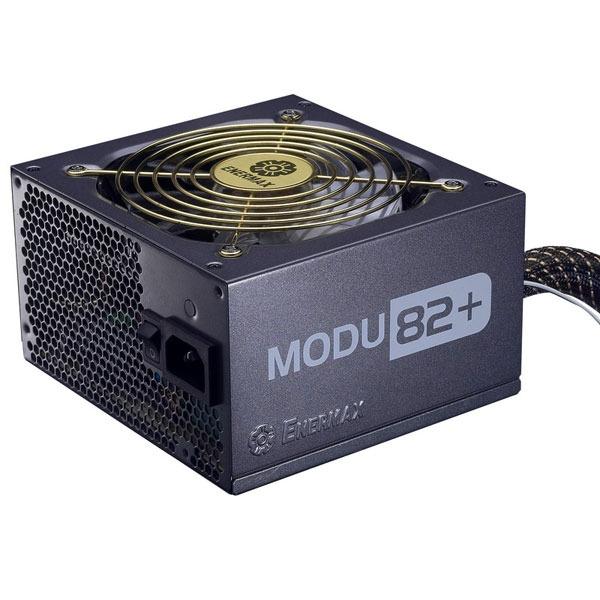 Alimentation PC Enermax MODU82+ EMD525AWT Enermax MODU82+ EMD525AWT - Alimentation modulaire 525W ATX12V Ver 2.3 (1 ventilateur 120mm)