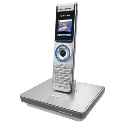 Téléphone sans fil Sagem D86C Sagem D86C -Téléphone DECT (coloris argent) (Version Francaise)