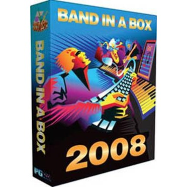 Logiciel musique & MP3 PG Music Band In A Box 2008 PG Music Band In A Box 2008 (français,WINDOWS)