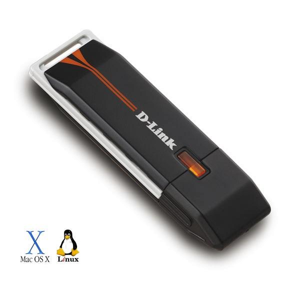 Carte réseau D-Link DWA-110 D-Link DWA-110 - Clé USB sans fil 802.11g 54 Mbps