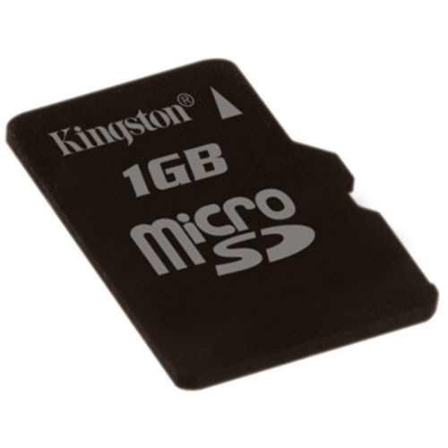 Carte mémoire Kingston microSD 1 Go Kingston microSD 1 Go (garantie 10 ans par Kingston)