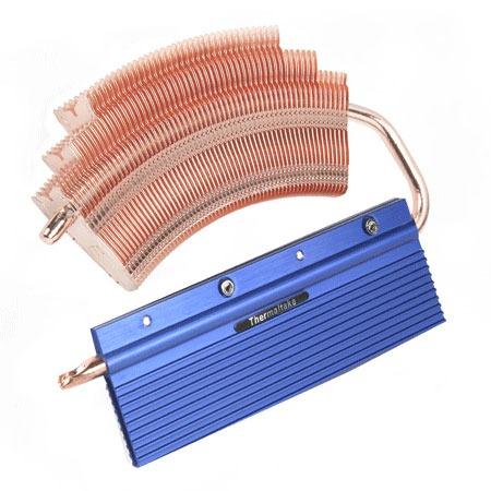 Ventilateur mémoire PC Thermaltake V1R Thermaltake V1R - Dissipateur mémoire DDR/DDR2/DDR3/DDR4 à Heatpipe