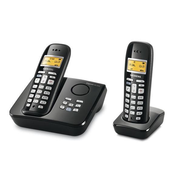 siemens gigaset ac265 duo t l phone sans fil siemens sur ldlc. Black Bedroom Furniture Sets. Home Design Ideas