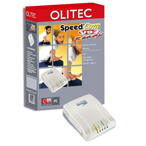Modem & routeur Olitec Speed'Com V92 Ready Olitec Speed'Com V92 Ready