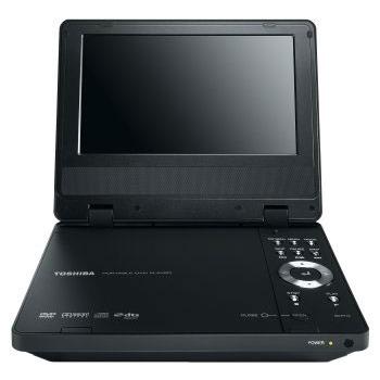 Lecteur DVD portable Toshiba SD-P71S Toshiba SD-P71S - Lecteur de DVD portable compatible DivX