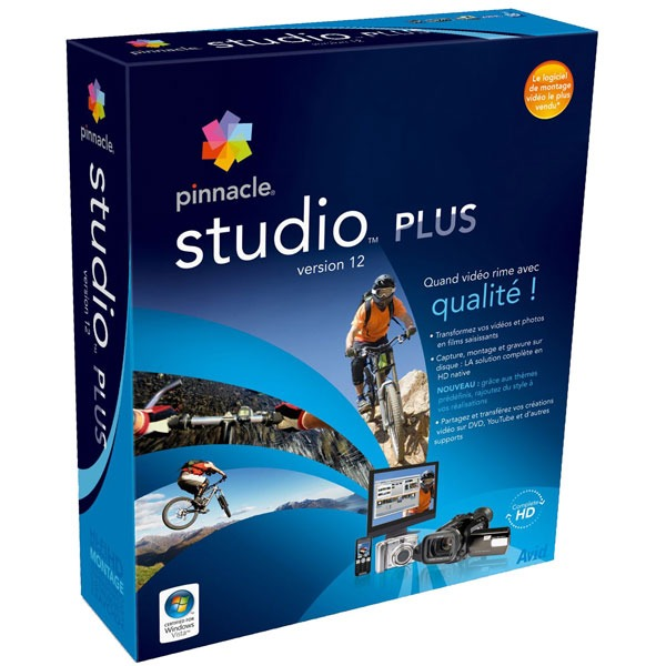 Logiciel composition vidéo Pinnacle Studio Plus 12 Pinnacle Studio Plus 12 (français, WINDOWS)