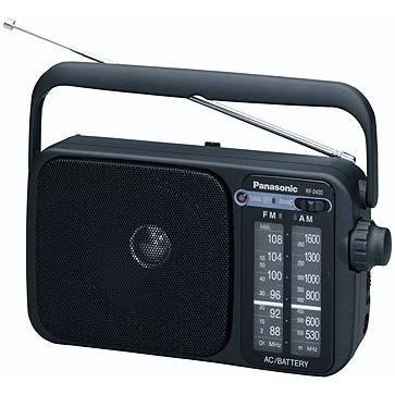 Radio & radio réveil Panasonic RF-2400 Panasonic RF-2400 - Radio de voyage (coloris noir)
