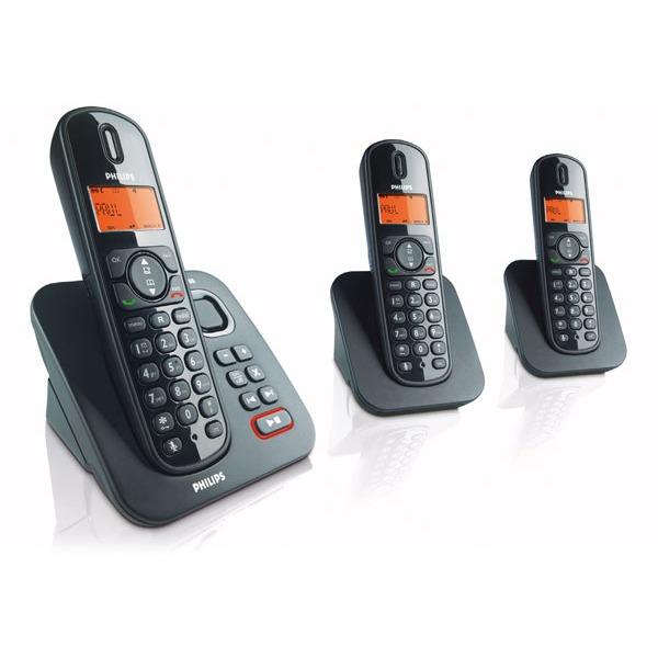 philips cd1553b trio t l phone sans fil philips sur ldlc. Black Bedroom Furniture Sets. Home Design Ideas