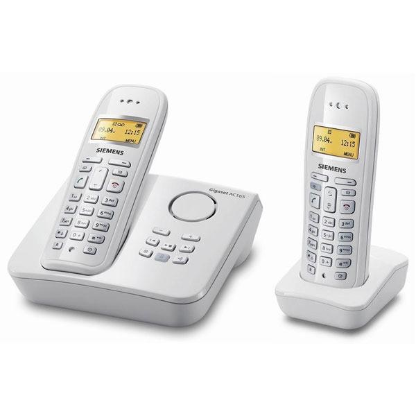 siemens gigaset ac165 duo t l phone sans fil siemens sur ldlc. Black Bedroom Furniture Sets. Home Design Ideas