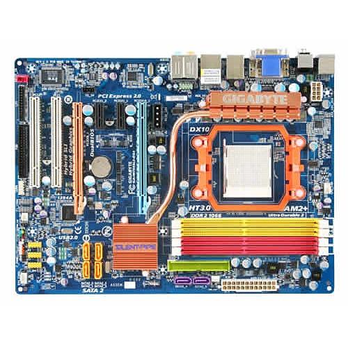 Carte mère Gigabyte GA-M750SLI-DS4 Gigabyte GA-M750SLI-DS4 (NVIDIA nForce 750a SLI) - ATX