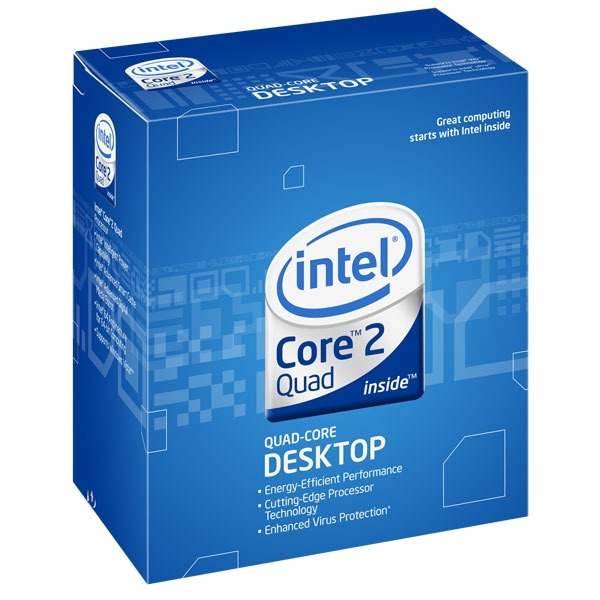Processeur Intel Core 2 Quad Q9650 Processeur Quad Core Socket 775 FSB1333 cache L2 12 Mo 0.045 micron (version boîte - garantie Intel 3 ans)