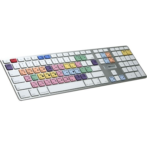 Clavier PC LogiKeyboard Adobe Premiere Pro CS3 Ultra Thin Alu LogiKeyboard Adobe Premiere Pro CS3 Ultra Thin Alu (AZERTY, français)