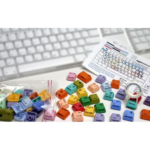 Clavier PC LogicKeyboard Logic 8 Pro Preset G5 keyset LogicKeyboard Logic 8 Pro Preset G5 keyset - Touches de raccourcis (pour clavier Apple G5)