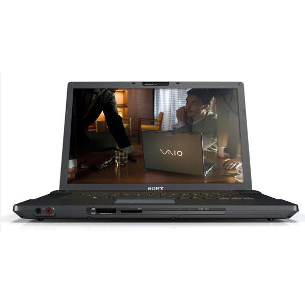 "PC portable Sony VAIO BZ11MN Sony VAIO BZ11MN - Intel Core 2 Duo P8400 2 Go 160 Go 15.4"" TFT Graveur DVD Super Multi DL Wi-Fi N/Bluetooth WVP"