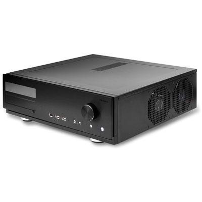 Boîtier PC Antec Fusion Remote Black Boitier multimédia avec télécommande (coloris noir)
