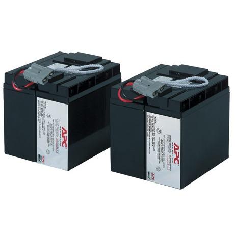 Batterie onduleur APC RBC55 Batterie de remplacement pour APC SUA3000I, SUA2200I, SMT2200I et SMT3000I