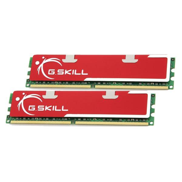 Mémoire PC G.Skill Standard Series 2 Go (2x 1Go) DDR 400 MHz G.Skill Standard Series 2 Go (kit 2x 1 Go) DDR-SDRAM PC-3200 - F1-3200PHU2-2GBNS (garantie 10 ans par G.Skill)