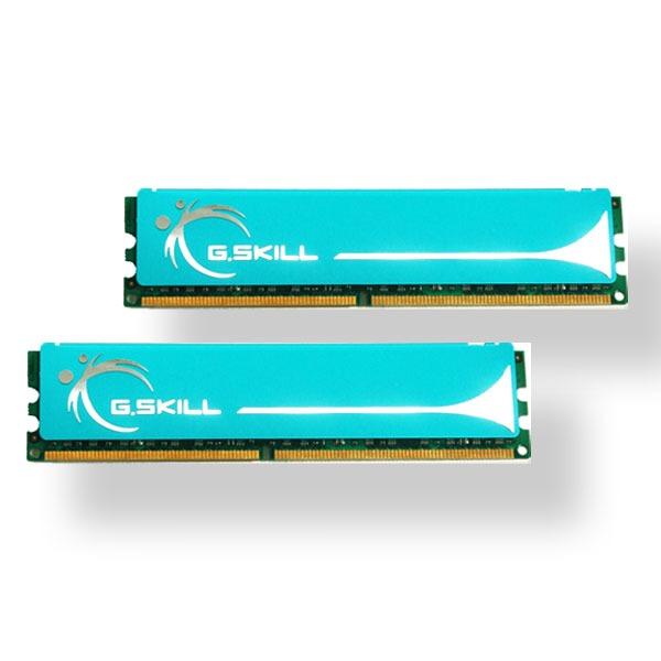 Mémoire PC G.Skill PK Series 2 Go (2x 1Go) DDR2 800 MHz G.Skill PK Series 2 Go (kit 2x 1 Go) DDR2-SDRAM PC2-6400 - F2-6400CL4D-2GBPK (garantie 10 ans par G.Skill)